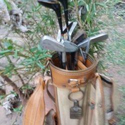 Golfsack - verschiedene Schläger